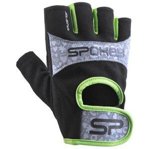Spokey ELENA II černá M - Dámské fitness rukavice