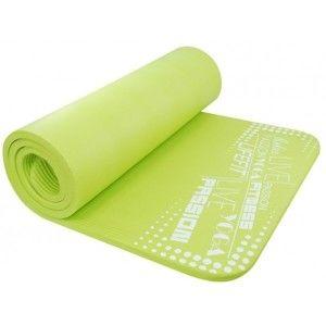 SPORT TEAM YOGA MAT EXKLUZIV PLUS zelená NS - Podložka na cvičení
