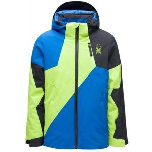 Spyder BOYS AMBUSH modrá 18 - Chlapecká bunda
