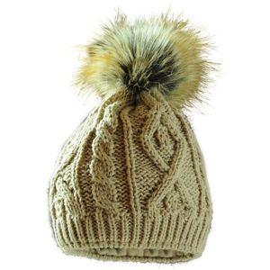 Starling ARAN béžová UNI - Zimní čepice