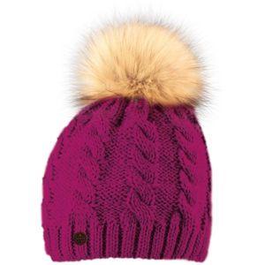 Starling ISOLDE růžová UNI - Zimní čepice