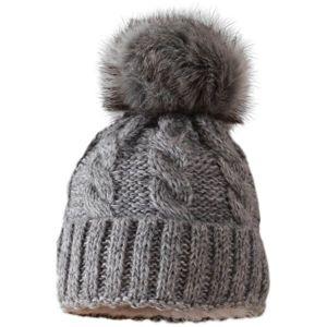 Starling MALWINA šedá UNI - Zimní čepice