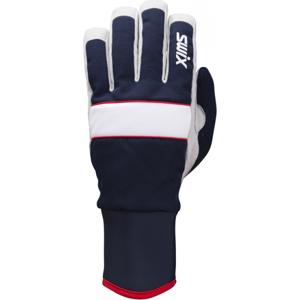 Swix POWDER tmavě modrá 9 - Běžkařské rukavice