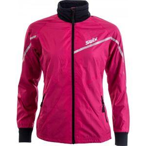 Swix XTRAINING JKT WMNS fialová M - Lehká všestranná dámská bunda