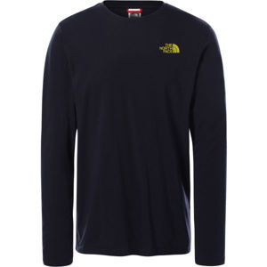 The North Face L/S EASY TEE DEEP M  XL - Pánské tričko