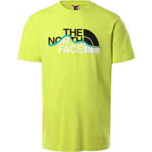 The North Face S/S MOUNT LINE TEE  XL - Pánské tričko