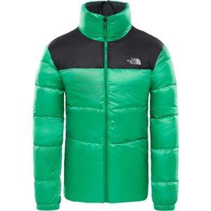 The North Face NUPTSE III JACKET M zelená S - Pánská zateplená bunda