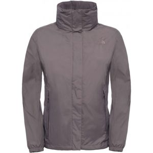 The North Face RESOLVE JACKET W šedá XL - Dámská nepromokovaná bunda