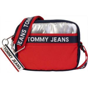 Tommy Hilfiger TJW LOGO TAPE CROSSOVER CB červená UNI - Dámská kabelka