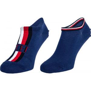 Tommy Hilfiger MEN SNEAKER 2P ICONIC STRIPE  43 - 46 - Pánské ponožky