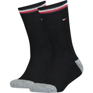 Tommy Hilfiger KIDS ICONIC SPORTS SOCK 2P  39-42 - Dětské ponožky