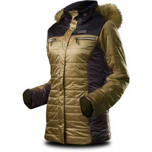 TRIMM ESTER hnědá XXL - Dámská zimní bunda