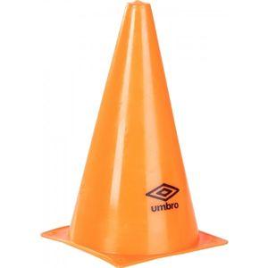 Umbro COLOURED CONES - 22,5cm oranžová  - Kužely