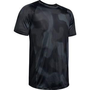 Under Armour MK1 SS PRINTED černá M - Pánské tričko