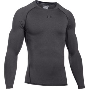 Under Armour HEAT ARM COMPR LONG šedá XXL - Pánské kompresní triko