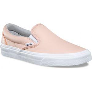 Vans CLASSIC SLIP-ON růžová 9 - Dámské slip-on boty