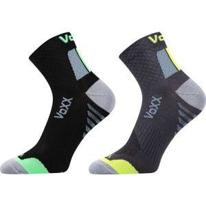 Voxx 2PACK KRYPTOX černá 29-31 - Unisexové ponožky