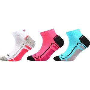 Voxx FLASHIK 3P růžová 17-19 - Dětské ponožky