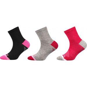 Voxx MAXTERIK 3P růžová 23-25 - Dětské ponožky