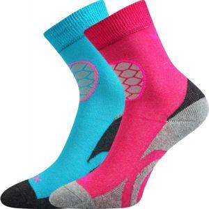 Voxx LOXIK 2P růžová 20-22 - Dětské froté ponožky