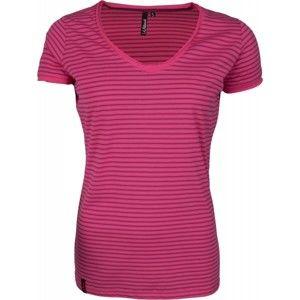 Willard AIVA růžová M - Dámské tričko