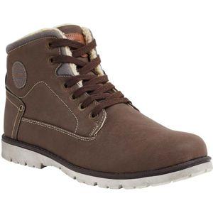 Willard HAZE hnědá 43 - Pánská zimní obuv