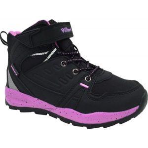 Willard COUGAR černá 30 - Dětská zimní obuv