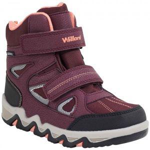 Willard CANADA vínová 25 - Dětská zimní obuv