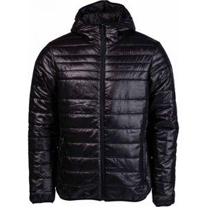 Willard OLIVIER černá L - Pánská prošívaná bunda