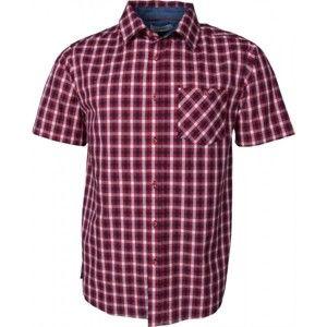 Willard HUDD červená M - Pánská košile