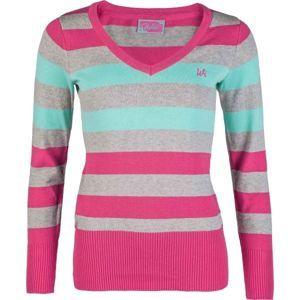 Willard RYLEE růžová XXL - Dámský pletený svetr