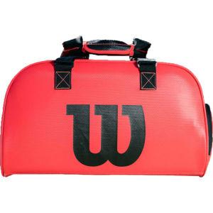 Wilson DUFFEL INFRAED SMALL červená NS - Sportovní taška