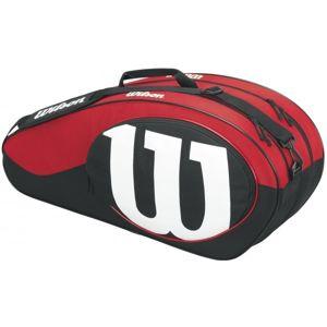 Wilson MATCH II 6PK bílá  - Tenisový bag